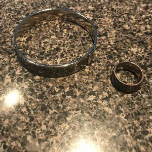Coach Ring and Bracelet